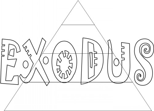 Bible Coloring Pages For Kids-Free, Printable Books Of The Bible Exodus Coloring  Pages