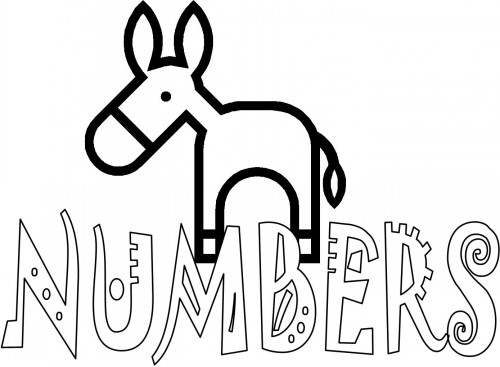Color By Numbers Biblee Colouring Pages (page 2
